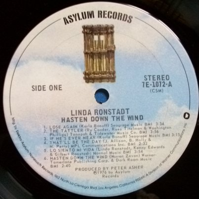 Hasten Down The Wind | All Dylan – A Bob Dylan blog