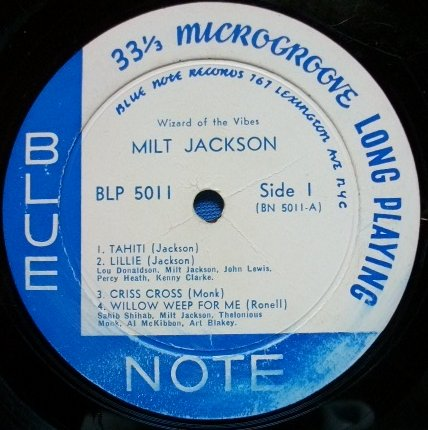 Milt Jackson - Lillie / Willow Weep For Me