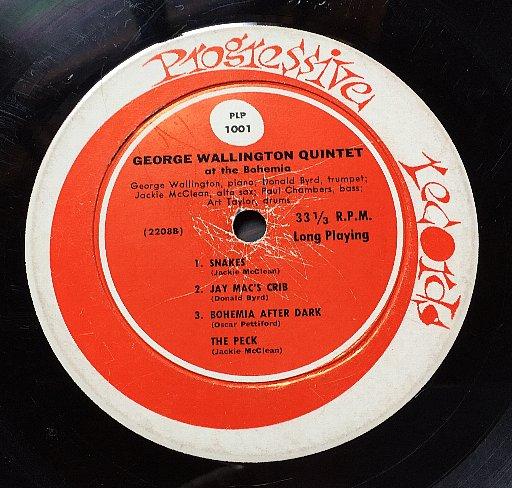 George Wallington Quintet The New York Scene